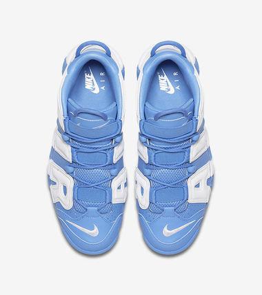"Nike スニーカー 送料込!Nike Air More Uptempo ""University Blue"" モアテン(6)"