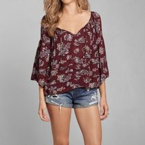 Bell Sleeve Peasant Blouse