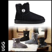 ★追跡付【UGG】女性用/MINI Bailey Button Bling
