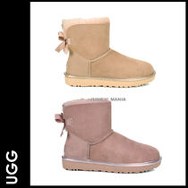 ★3-7日着/追跡&関税込【UGG】Metallic MINI BAILEY BOW II