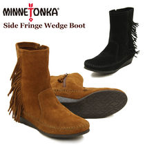 ★Minnetonka Side Fringe Boot★