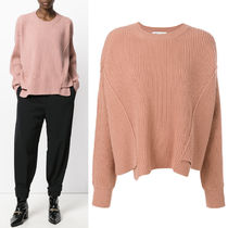 17-18AW SM393 OVERSIZED CREW NECK SWEATER