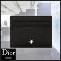 【AW新作】DIOR HOMME カードケース リエージュカーフレザー BEE