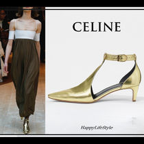 LOOK33◇Kitten Heel Salome パンプス◇CELINE