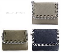 国内即発★Stella McCartney★FALABELLA SHAGGY DER折り畳み財布