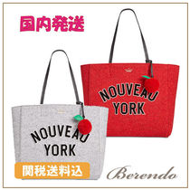 国内発送◆kate spade Nouveau York Hallie Medium トート 2色