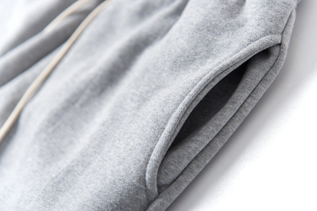 ◆ LIGHTPLACE ◆ CORDUROY KNEE PATCHES JOGGER-GREY