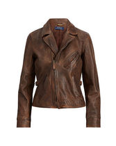 Burnished Leather Jacket