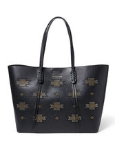 Microstud Nappa Leather Tote