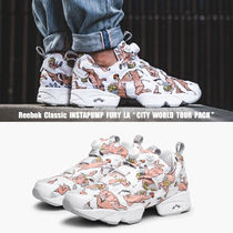 REEBOK★INSTAPUMP FURY LA★CITY WORLD TOUR PACK★エンジェル