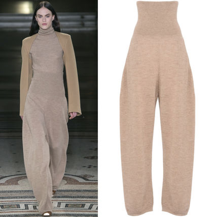17-18AW SM413 LOOK14 KNIT WIDE PANTS