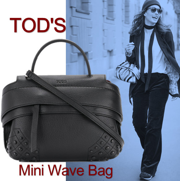 TOD'S(トッズ)☆WAVE  バッグ ミニ ショルダー バッグ