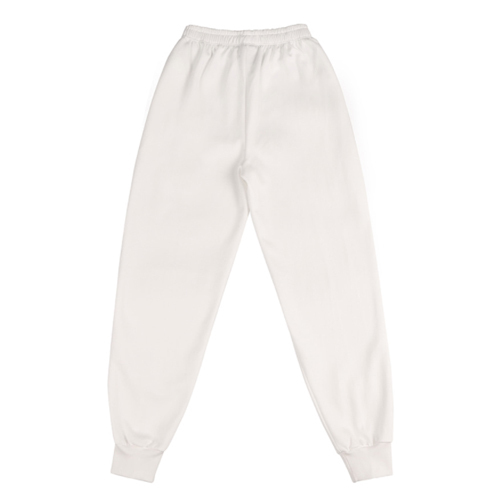 ★BASIC COTTON★正規品/日本未入荷/color logo pants(wh)