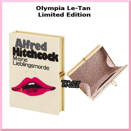 Olympia Le Tan★【限定】Meine Lieblingsmordeクラッチバッグ