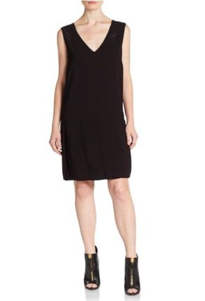 セール!Marc by Marc Jacobs Yumi Crepe Dropped-Waist Dress