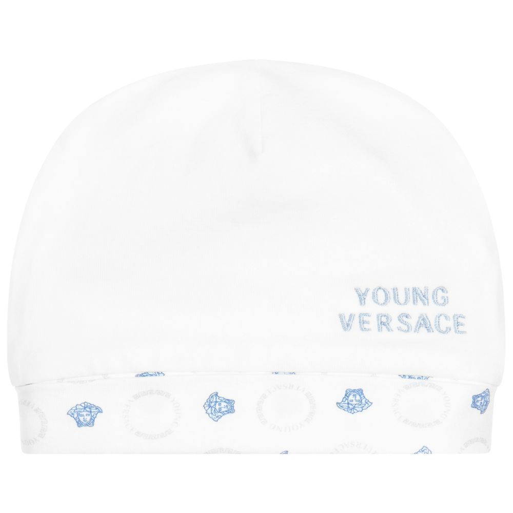 現地Sale★YOUNG VERSACE★BlueメデューサGift set 1-9M 関税込