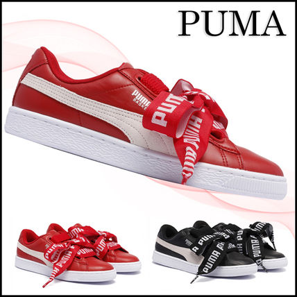【関税/送料込】PUMA BASKET HEART RED SNEAKERS 国内発送