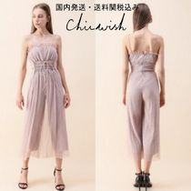 国内発・送関込み☆Chicwish☆All About Romance Mesh Jumpsuit
