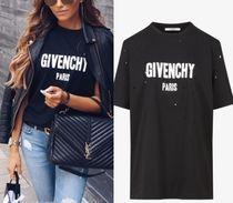 GIVENCHY(ジバンシィ) Tシャツ・カットソー パリ直営店買付【GIVENCHY】ダメージ加工オーバーサイズロゴT