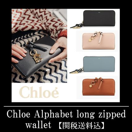 ☆Chloe Alphabet long zipped wallet(クロエ ジップ 長財布)☆