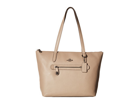 ★Coach★ Pebbled Leather Taylor Tote バッグ 関税込★
