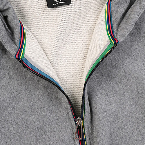 Paul Smith CYCLE‐STRIPE ZIP HOODED