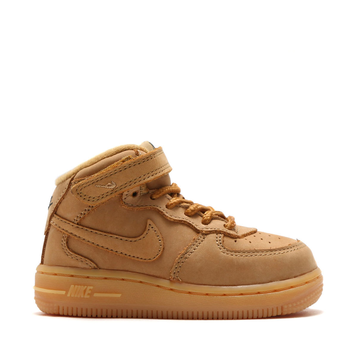 NIKE FORCE 1 MID WB PS エアフォース ウィート ベビー キッズ