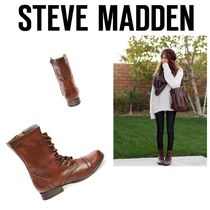 〓NYC発!〓STEVE MADDEN レースアップブーツ【TROOPA BROWN】
