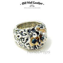 Bill Wall Leather(ビルウォールレザー) 指輪・リング Bill Wall Leather 30th 限定 Pirate w/Octopus & Gemstone Ring
