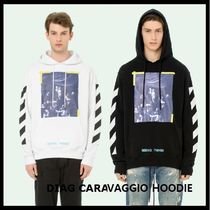 【Off-White】DIAG CARAVAGGIO HOODIE OMBB003F170030160110