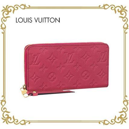 【17AW】LOUIS VUITTON★ジッピー・ウォレット★モノグラム Pink