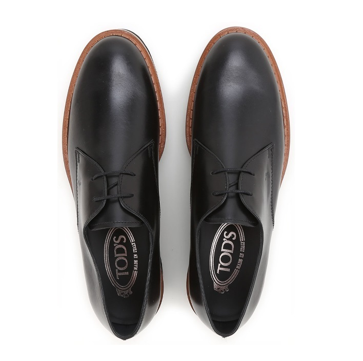 18AW 国内発送 TOD'S トッズ ローファー 黒  関税込