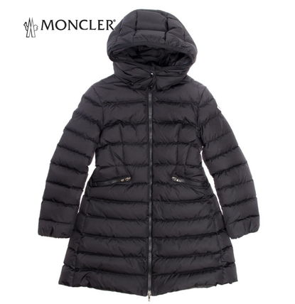 MONCLER キッズアウター お早めに♪MONCLER Jr★CHARPAL Black 8~10A大人もOK【関税込】
