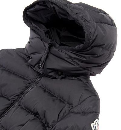 MONCLER キッズアウター お早めに♪MONCLER Jr★CHARPAL Black 8~10A大人もOK【関税込】(4)