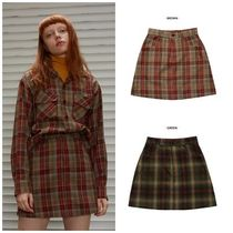 日本未入荷SCULPTORのRETRO CHECK SKIRT 全2色