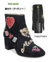 【kate spade】限定販売☆きららスパンコール☆liverpool boots