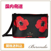 国内発送◆kate spade Hyde Lane Poppies Renee クロスボディ