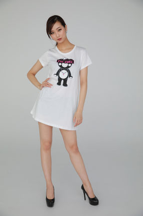 """Tシャツ・カットソー ★TANTA GIRLS★ ONE-PIECE """"I'm cute"""" CHAPPY T-SHIRT 即発(2)"""