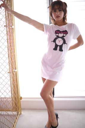 """Tシャツ・カットソー ★TANTA GIRLS★ ONE-PIECE """"I'm cute"""" CHAPPY T-SHIRT 即発(7)"""