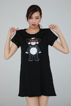 "★TANTA GIRLS★ ONE-PIECE ""BITCH"" CHAPPY T-SHIRT 即発"