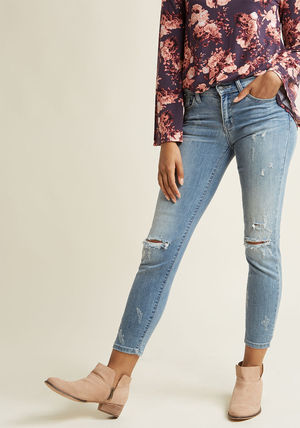 completely at ease cropped skinny jeans