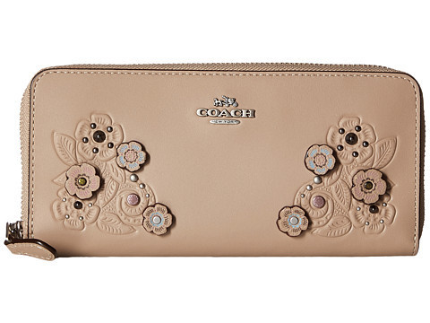 ★Coach Tea Rose Tooling with Applique 財布関税込★