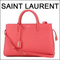 SAINT LAURENT   CABAS RIVE GAUCHE   2WAYバッグ ROSE PINK