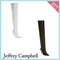 【Jeffrey Campbell】新作☆ スネーク柄 サイハイ ブーツ★