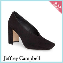 【Jeffrey Campbell】新作☆ スクエア トゥ パンプス★