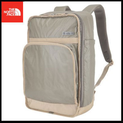 (ザノースフェイス) STEEZE SQUARE BACKPACK BEIGE NOM2DG10