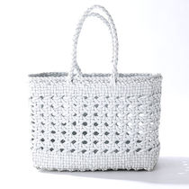 dragon 8802 CANNAGE SMALL BAG メッシュ トートバッグ WHITE
