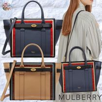 Mulberry☆Small Zipped Bayswater Silky Calf & Croc Print