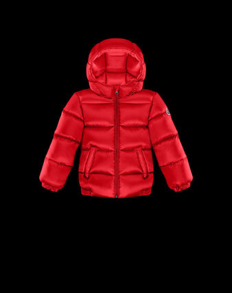 MONCLER べビーアウター MONCLER2017/18新作BABYフード付ダウンNEW MACAIRE 3M~3A