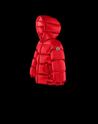 MONCLER べビーアウター MONCLER2017/18新作BABYフード付ダウンNEW MACAIRE 3M~3A(3)